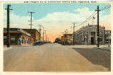 1302:--Regent St. at Commercial looking East, Inglewood, Calif.